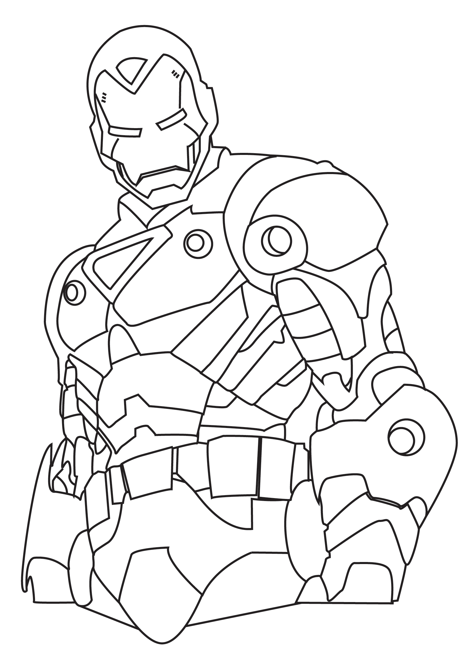 Iron man clipart black and white png black and white Free Iron Man Clipart Black And White, Download Free Clip ... png black and white