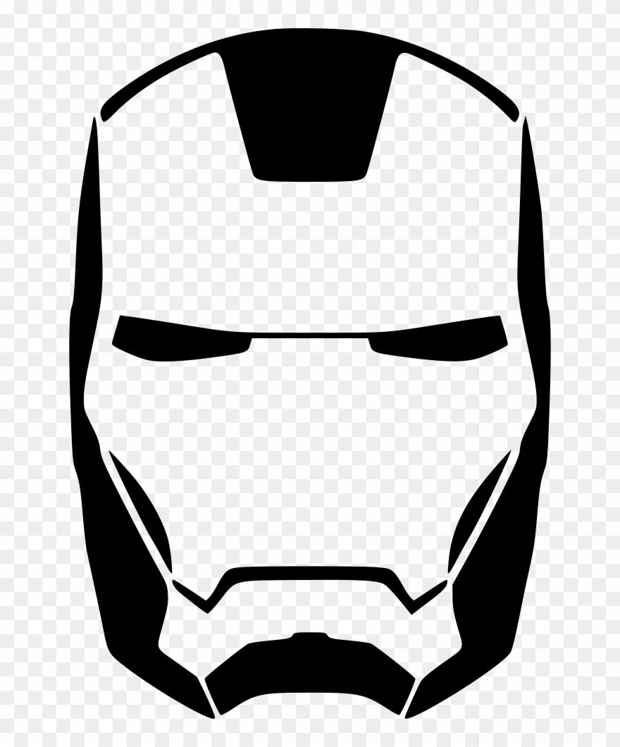 Iron man clipart black and white jpg Iron Man Clipart Iron Element - Iron Man Silhouette Cameo ... jpg