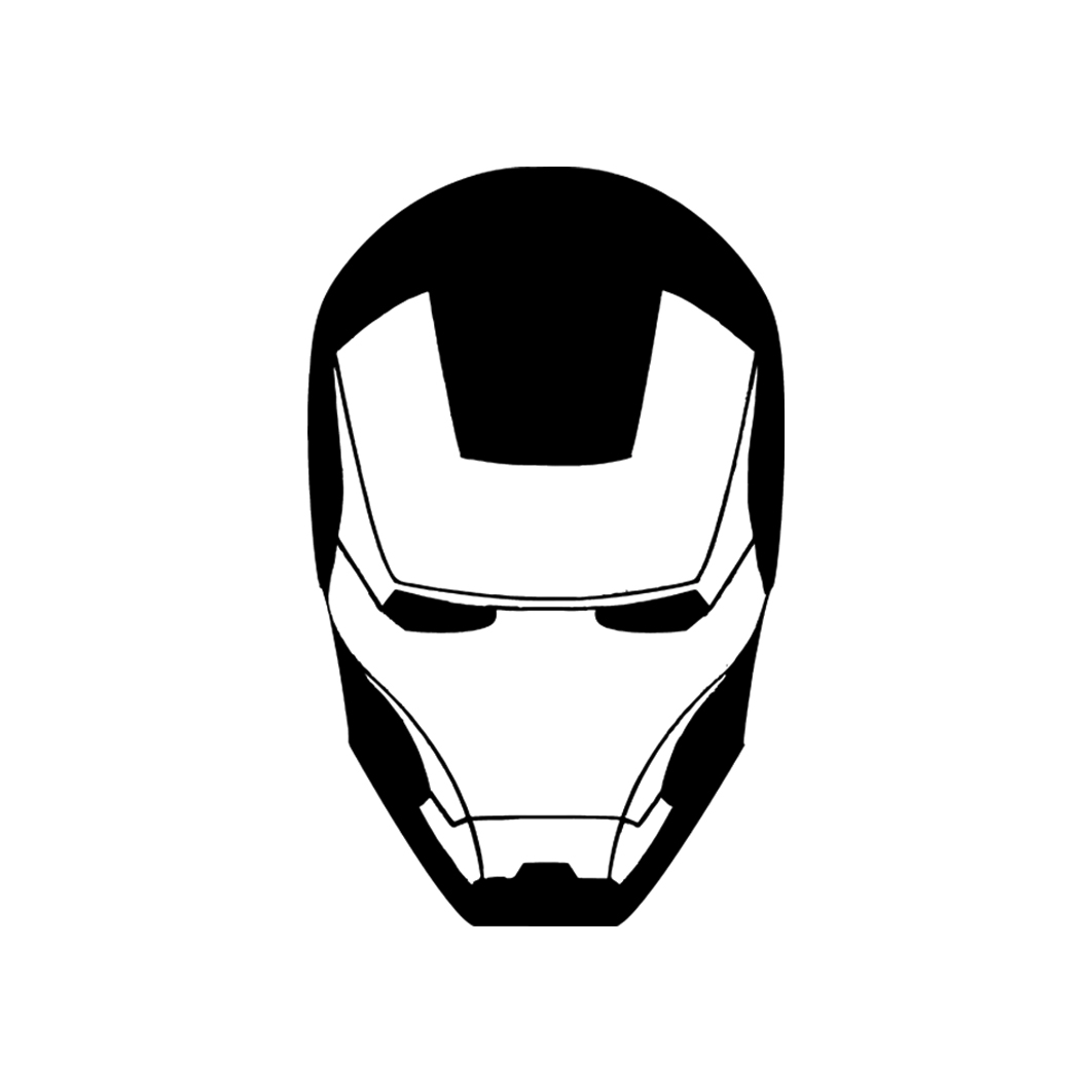 Iron man clipart blackand white for tshirt svg black and white download Iron Man T-Shirt svg black and white download
