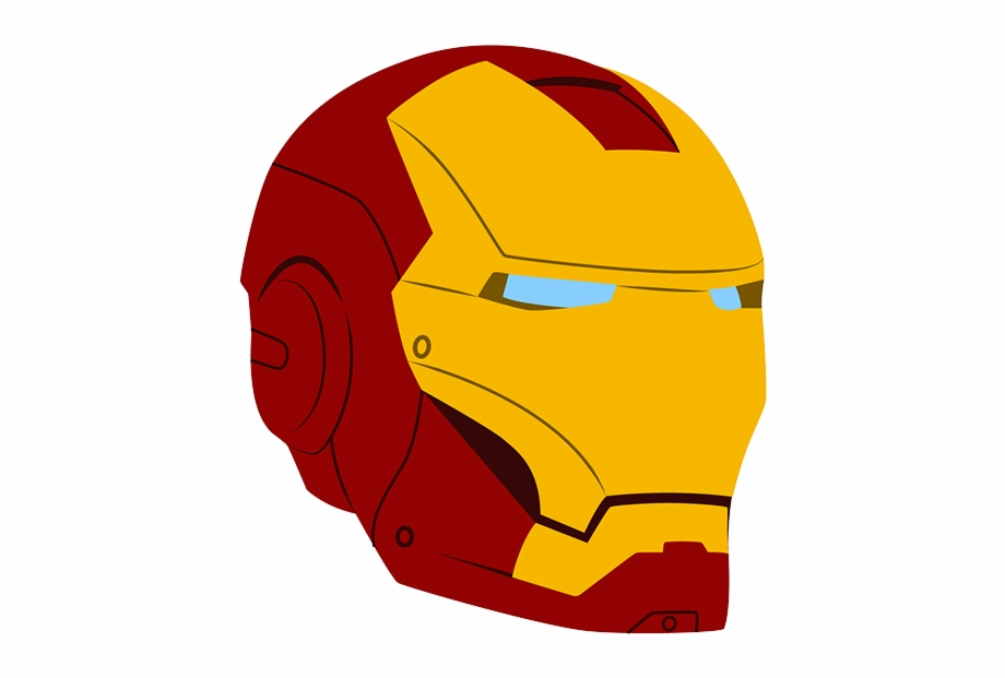 Iron man helmet clipart picture transparent Iron Man Helmet Vector Free PNG Images & Clipart Download #413900 ... picture transparent