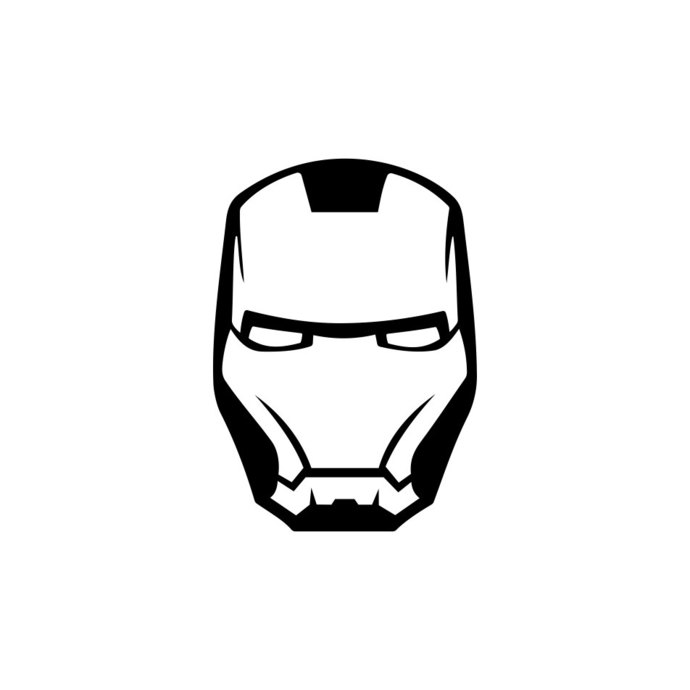 Iron man helmet clipart png library Iron Man Marvel Avengers Helmet graphics design SVG DXF EPS Png Cdr Ai Pdf  Vector Art Clipart instant cricut Digital Cut Print Files png library