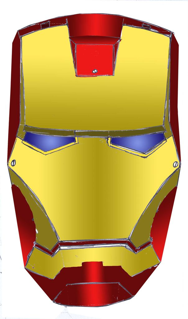 Iron man helmet clipart vector stock to make an iron man helmet | Clipart Panda - Free Clipart Images vector stock