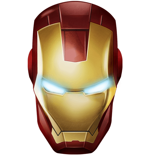 Iron man helmet clipart picture black and white download Iron Man Mask transparent PNG - StickPNG picture black and white download