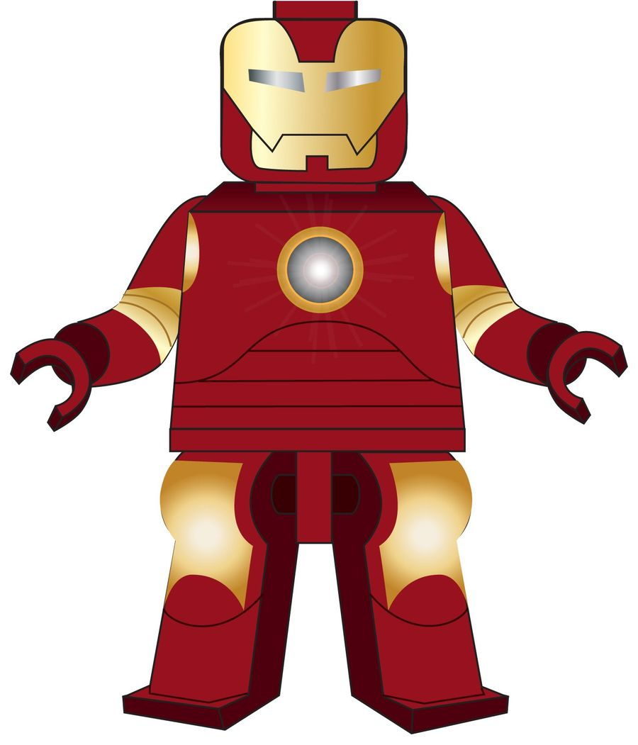 Iron man lego clipart graphic royalty free Download lego iron man vector clipart Iron Man LEGO graphic royalty free