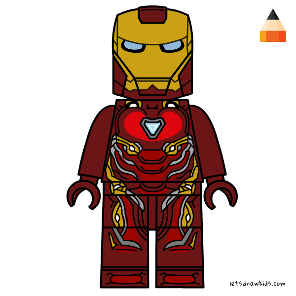 Iron man lego clipart png freeuse library How To Draw How to draw Lego Iron Man - Art Drawing for Kids ... png freeuse library