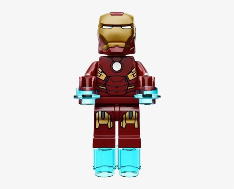 Iron man lego clipart