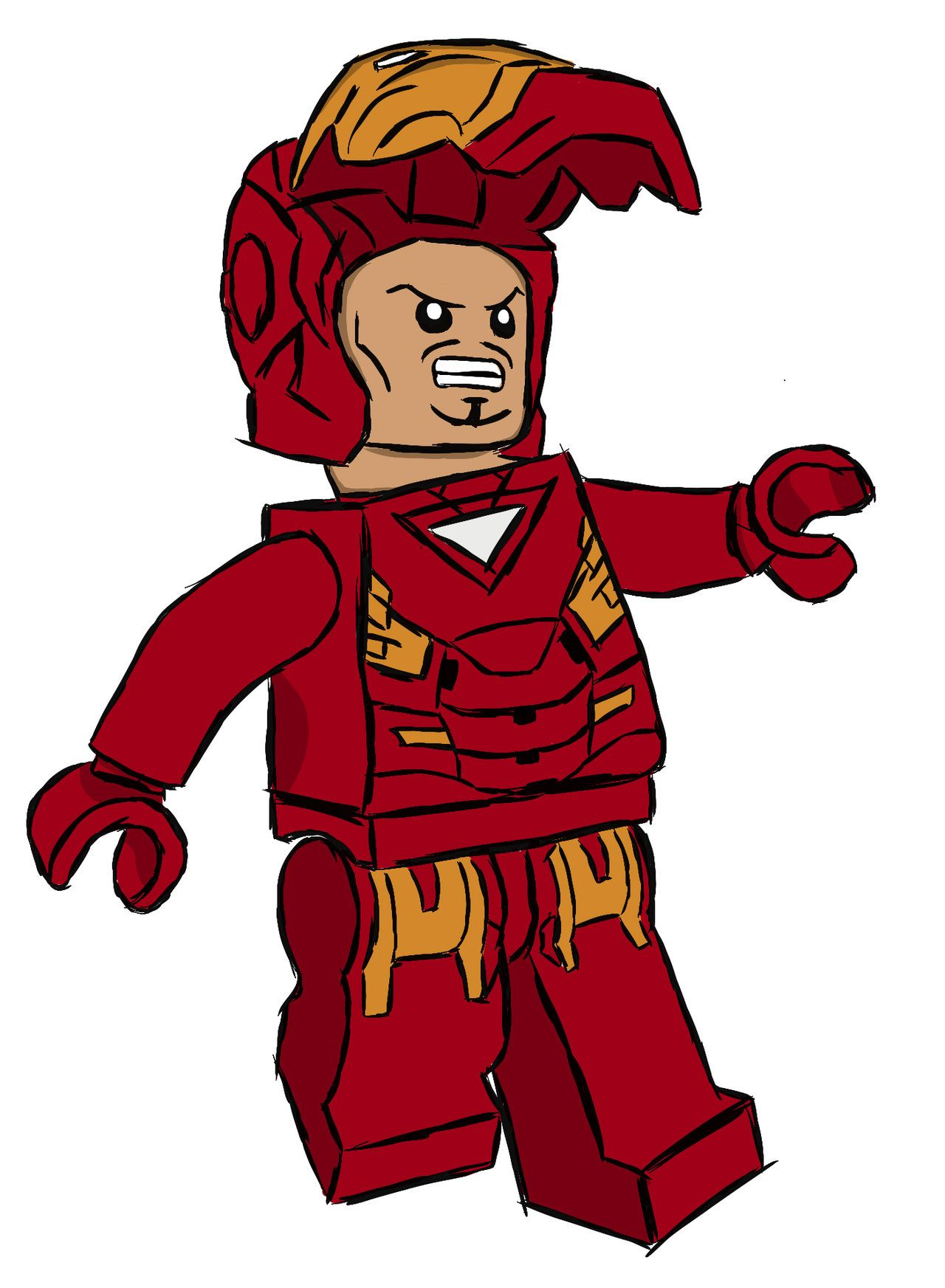 Iron man lego clipart png free library Lego Iron Man Drawing | Free download best Lego Iron Man Drawing on ... png free library