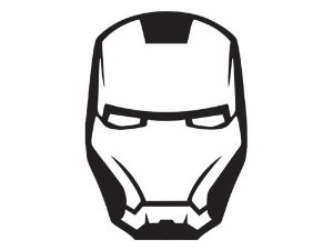Iron man logo black and white clipart image free stock Iron man clipart black and white 3 – Gclipart.com image free stock
