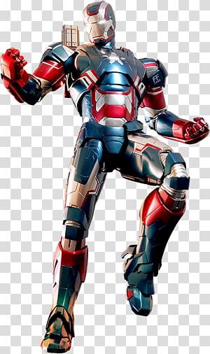 Iron patriot clipart vector black and white stock Iron Man War Machine Pepper Potts Film Iron Patriot, ironman ... vector black and white stock