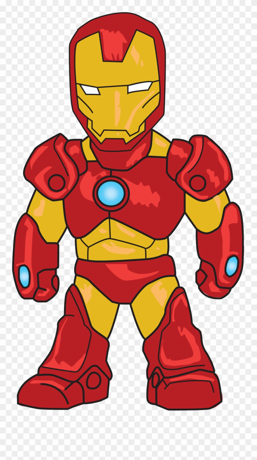 Ironman clipart png black and white Iron Man Clipart - Png Download (#762620) - PinClipart png black and white