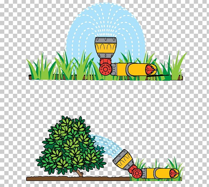 Irrigatin clipart svg library library Irrigation Sprinkler Lawn Garden Hose Watering Cans PNG, Clipart ... svg library library