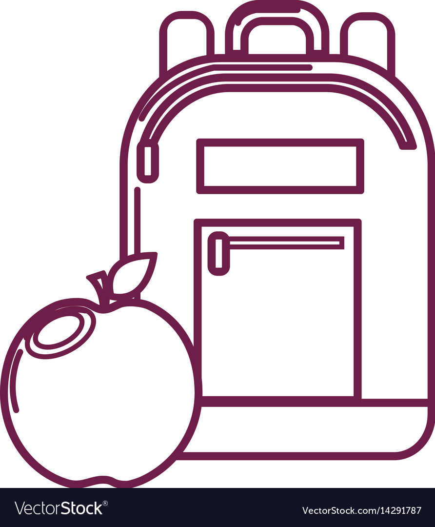 Is there a clipart tool in apple graphic stock Silhouette bag study tool with apple fruit graphic stock