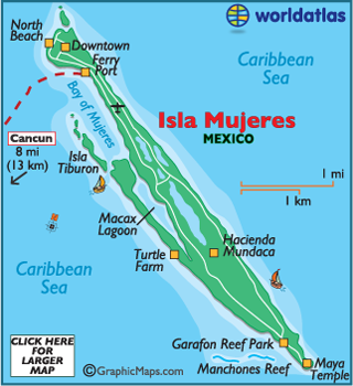 Isla mujeres clipart svg transparent download Isla Mujeres Map - Map of Isla Mujeres, Isla Mujeres Outline Map ... svg transparent download