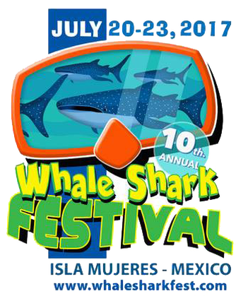Isla mujeres clipart banner black and white download Dates Announced for 10th Annual Whale Shark Festival in Isla Mujeres ... banner black and white download