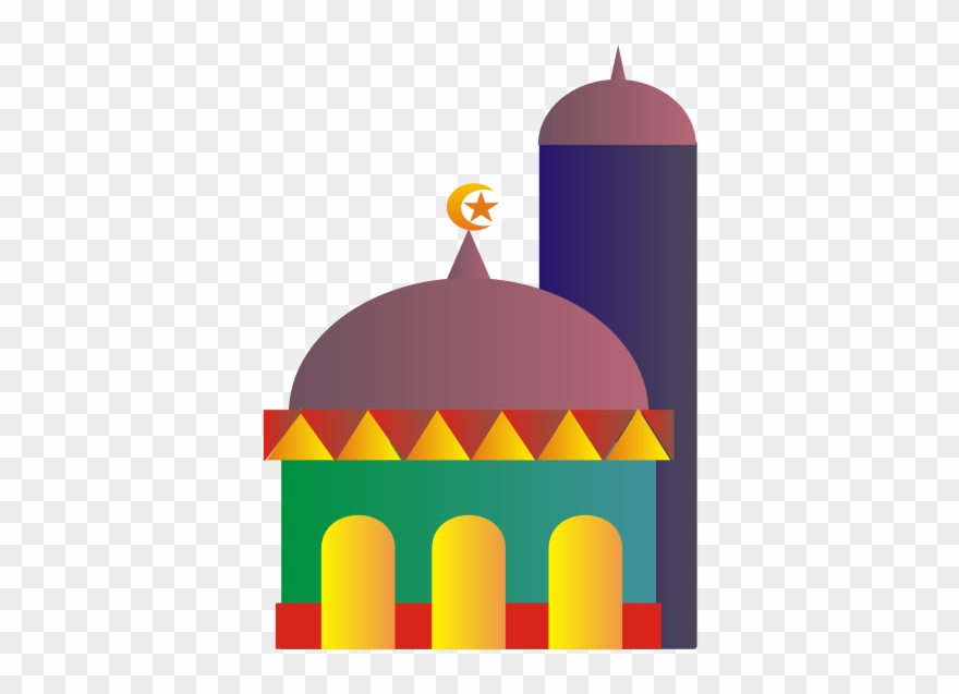 Islamic mosque clipart svg black and white download Islam Mosque Clipart Image &, Pictures - Mosque Clipart - Png ... svg black and white download