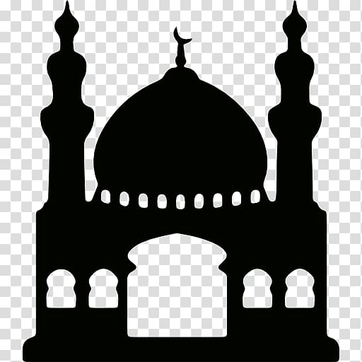 Islamic mosque clipart picture freeuse stock Silhouette of mosque illustration, Kaaba Mosque Computer Icons Islam ... picture freeuse stock