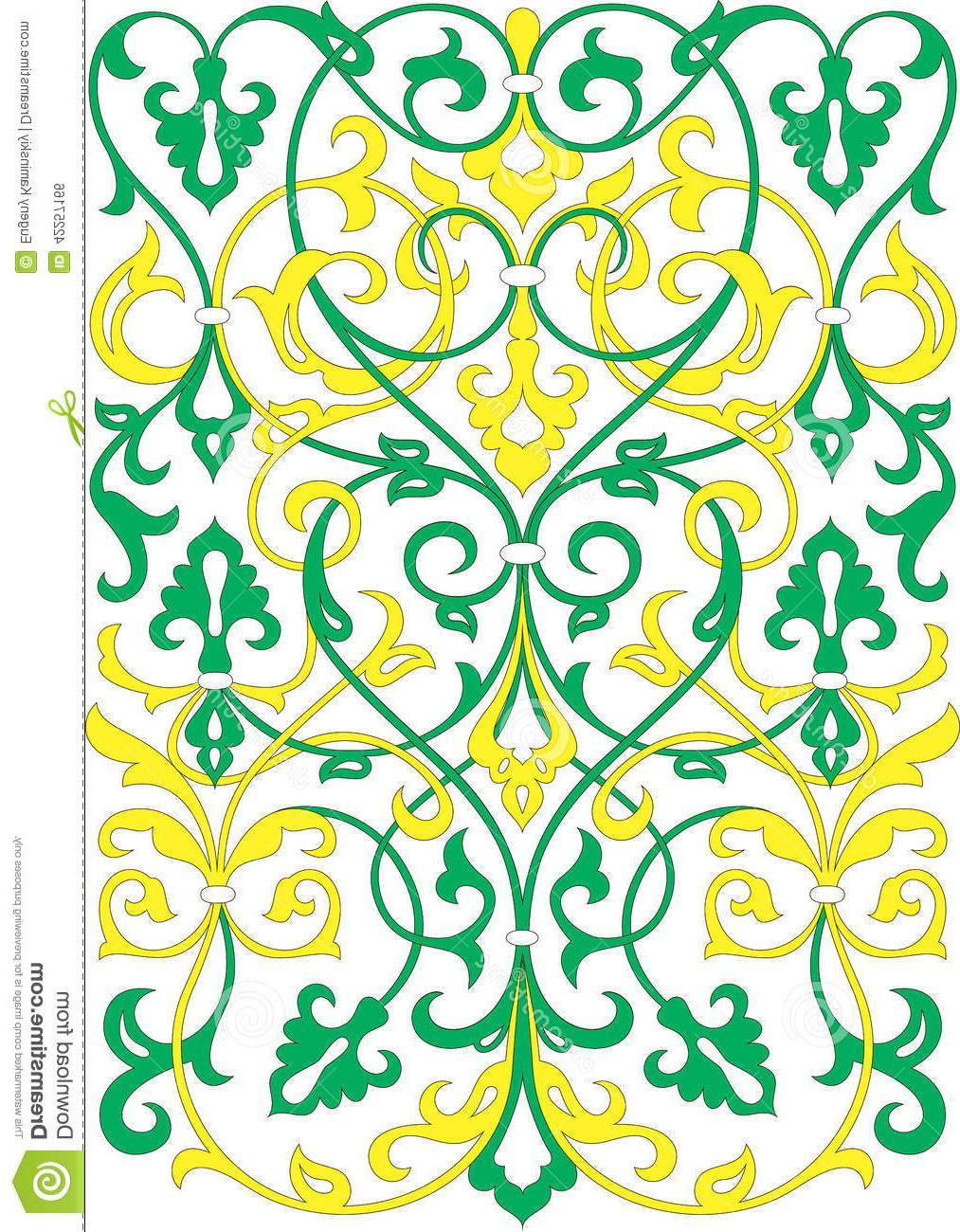 Islamic motifs clipart png transparent HD Islamic Motifs Vector Cdr » Free Vector Art, Images, Graphics ... png transparent