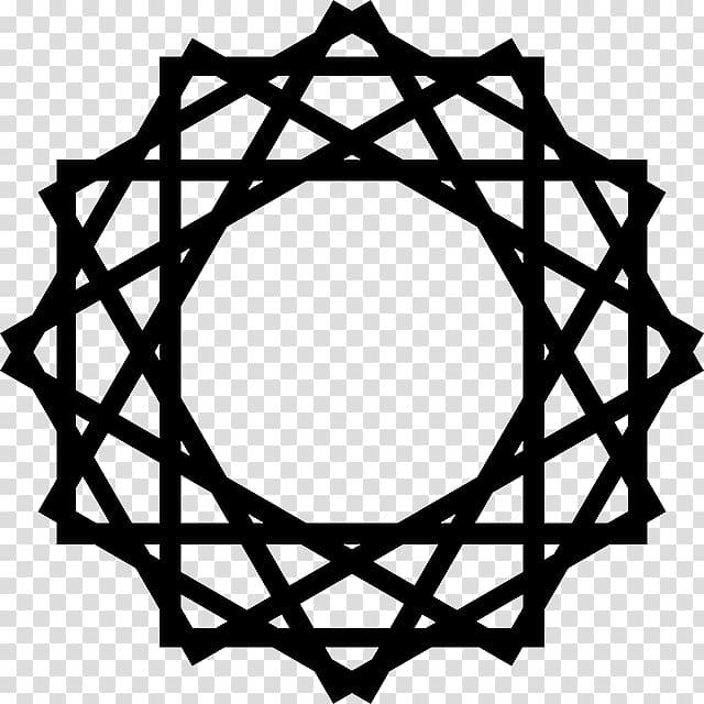 Islamic shape clipart vector library library Symbols of Islam Islamic art Islamic geometric patterns , gold frame ... vector library library