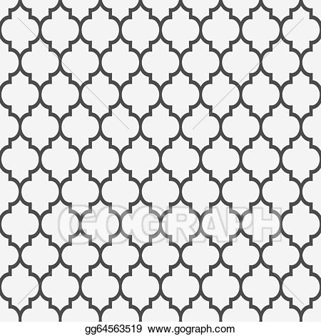 Islamic style clipart picture freeuse EPS Vector - Seamless pattern in islamic style. Stock Clipart ... picture freeuse