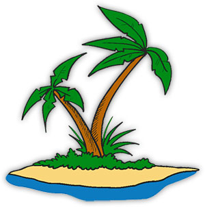 Island clipart transparent background png jpg free Free Animated Palm Trees - Palm Tree Clipart jpg free