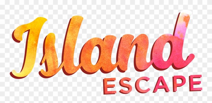 Island escape clipart svg free library Escape Rooms Island Escape Logo - Graphic Design Clipart (#4990753 ... svg free library