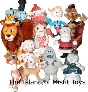 Island of misfit toy character clipart black and white download The Island of Misfit Toys | Dr. Molly\'s Weblog black and white download