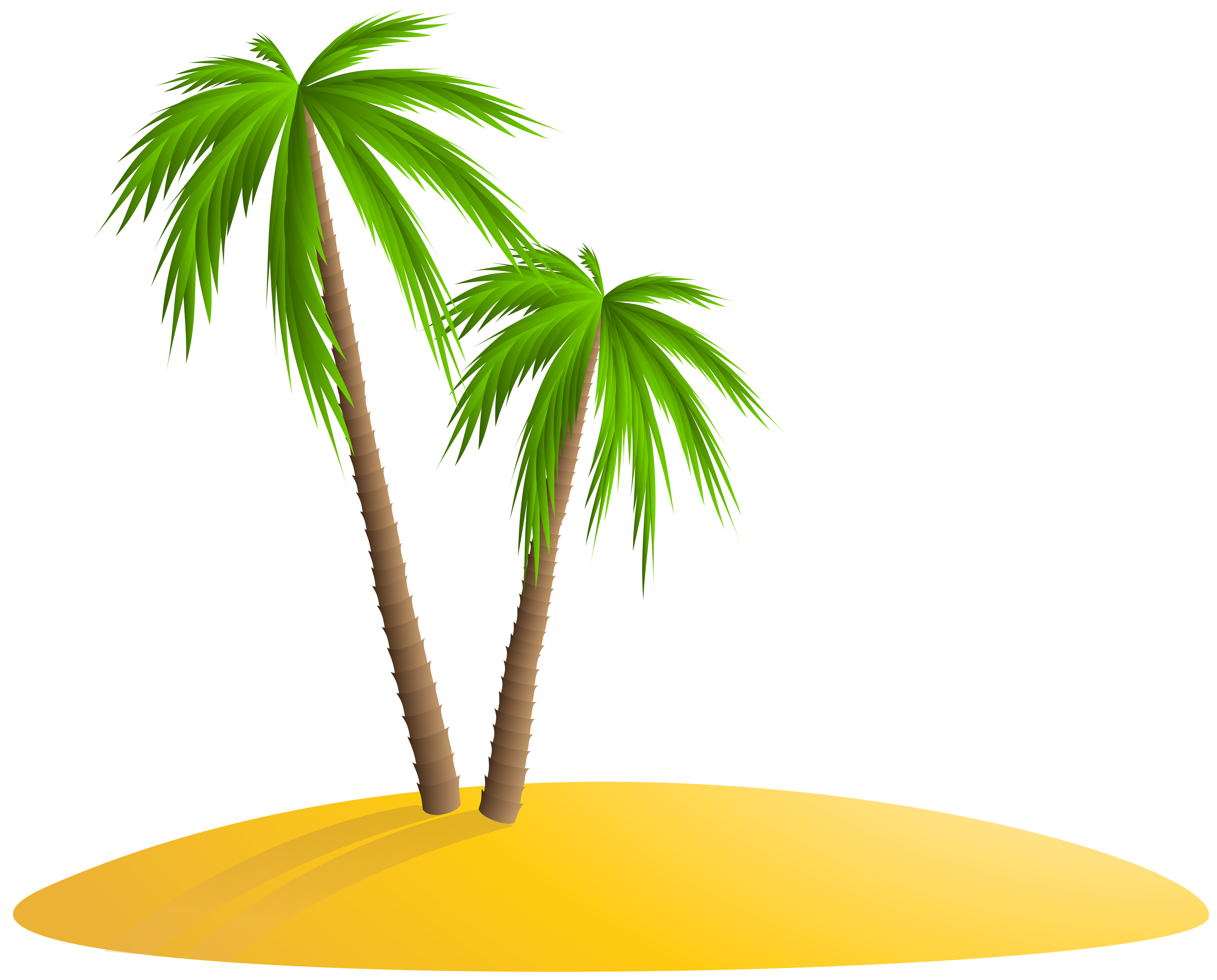 Island palm tree clipart jpg royalty free download Palm Island PNG Clip Art Image | Gallery Yopriceville - High ... jpg royalty free download