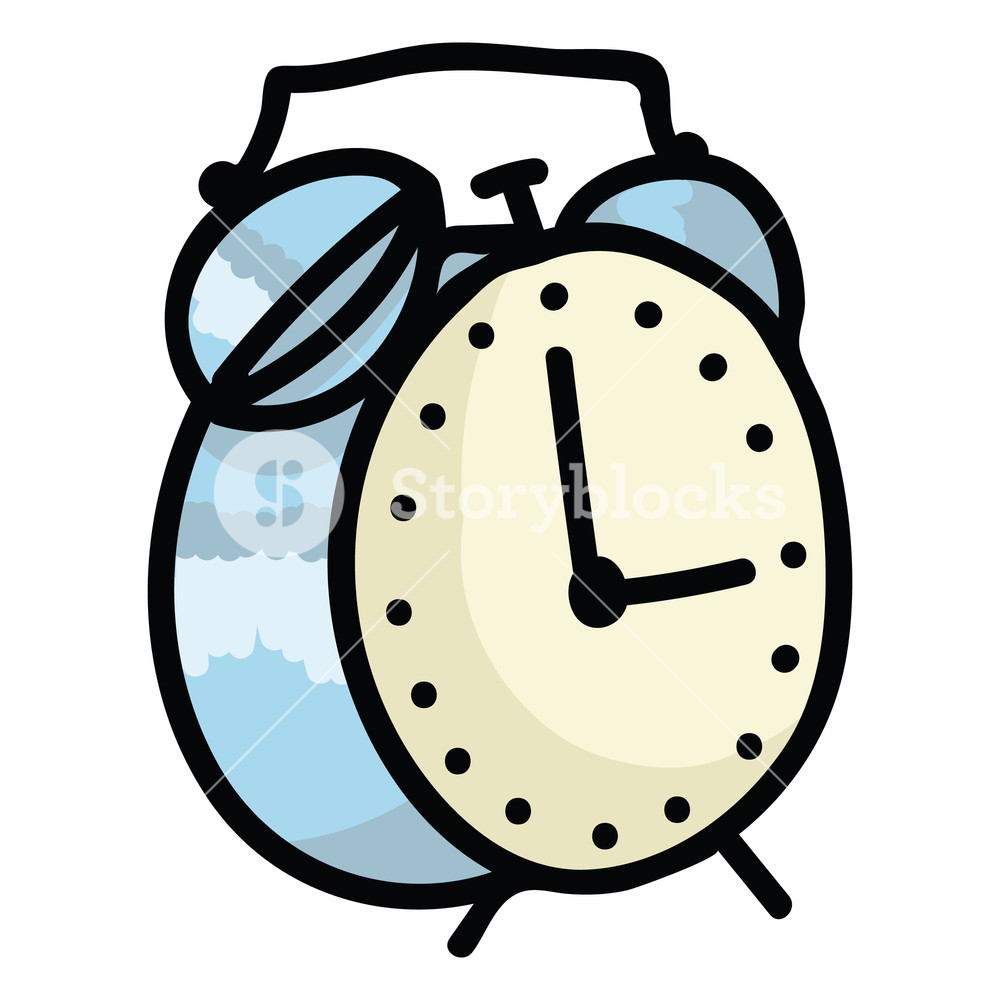 Isolated free stock clipart photos image royalty free download Cute alarm clock cartoon vector illustration motif set. Hand drawn ... image royalty free download