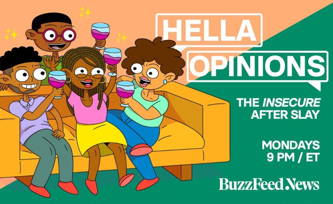 Issa rae clipart picture free download BuzzFeed Launches After-Show For HBO\'s \'Insecure\', Streaming Live On ... picture free download