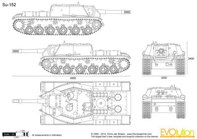 Isu 152 clipart clipart transparent download Su-152 vector drawing clipart transparent download