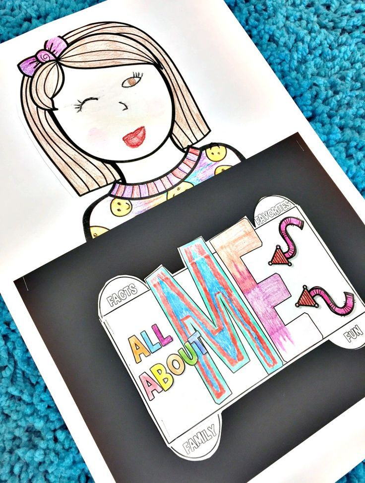 It s all about me clipart image transparent download All About Me Project - Back to School - Simply Skilled In Second ... image transparent download