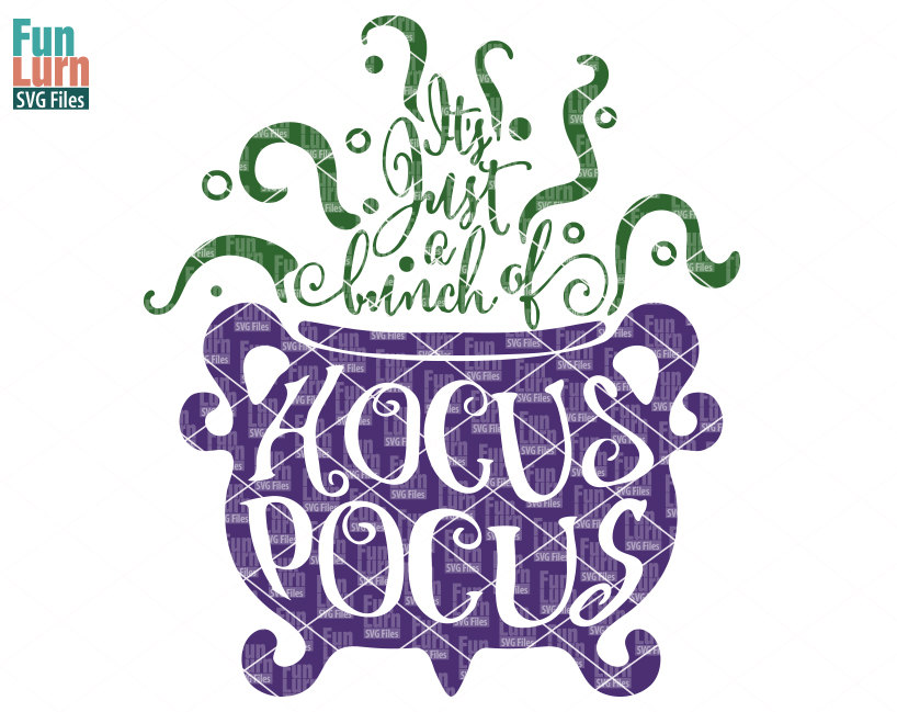 It s just a bunch of hocus pocus clipart clip black and white download Hocus Pocus SVG clip black and white download