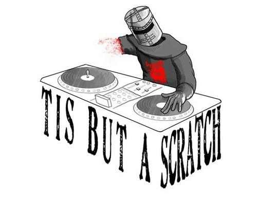 It s just a flesh wound clipart clip art free library The Black DJ | Just A Flesh Wound | Know Your Meme clip art free library