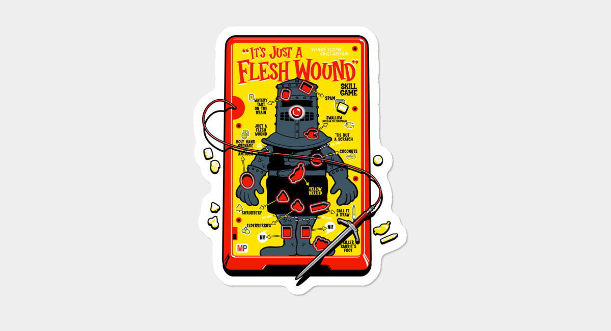 It s just a flesh wound clipart svg free stock \