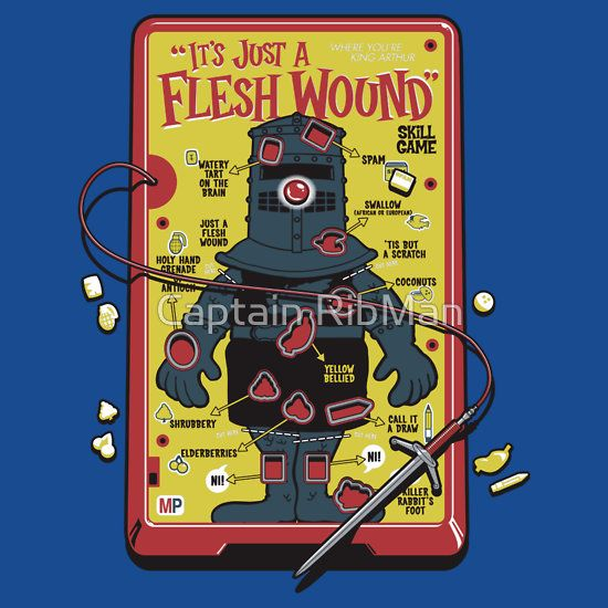 It s just a flesh wound clipart vector transparent library The \