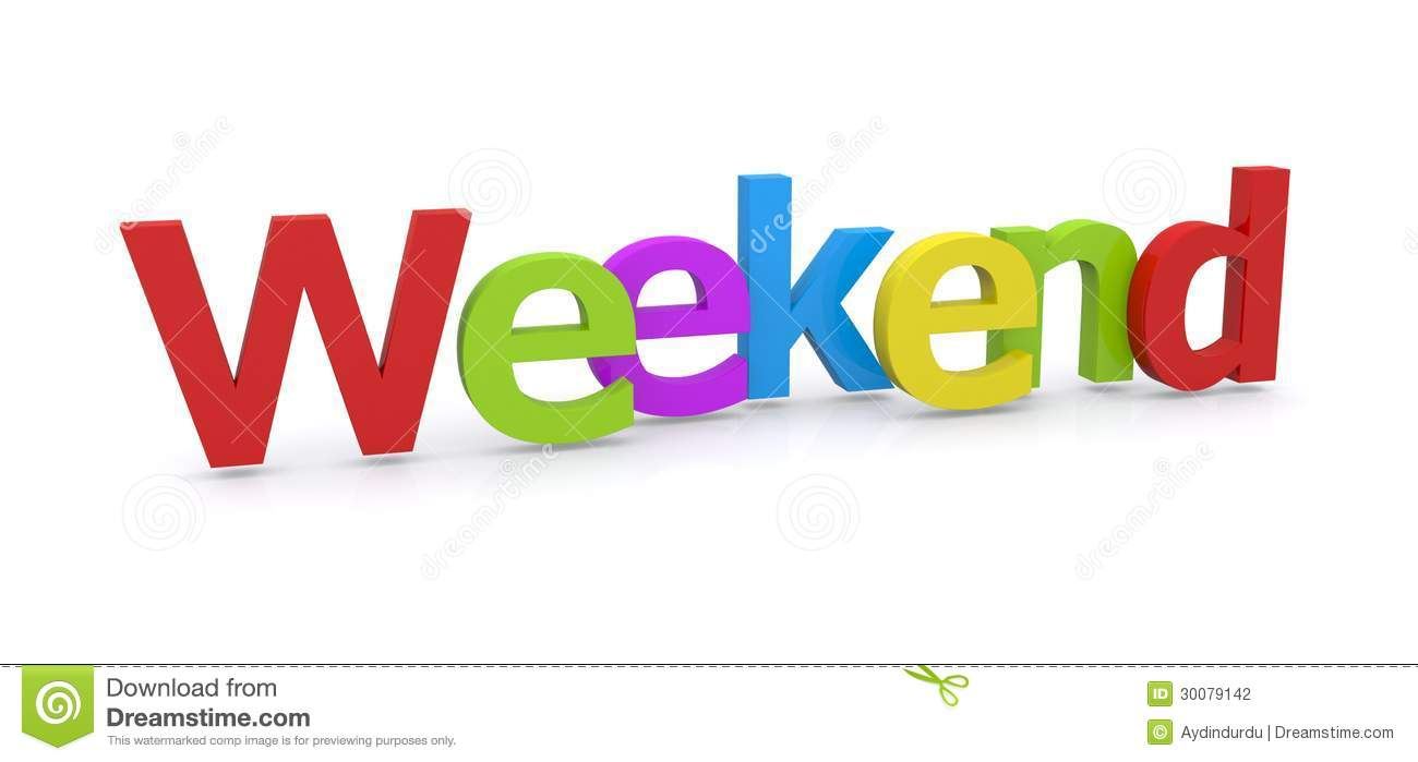 It s the weekend clipart svg black and white library Almost The Weekend Clipart - Free Clipart svg black and white library