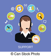 Tech support clipart svg library download Customer service Stock Illustrations. 110,570 Customer service clip ... svg library download