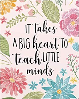 It takes a big heart to teach little minds clipart clip art freeuse stock It takes a big heart to teach little minds: Teacher calendar Weekly ... clip art freeuse stock