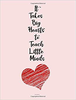 It takes a big heart to teach little minds clipart clip art stock It Takes Big Heart to Teach Little Minds: Appreciation Notebook ... clip art stock