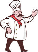 Italian chef clipart free svg library Italian Chef Stock Illustrations - Royalty Free - GoGraph svg library