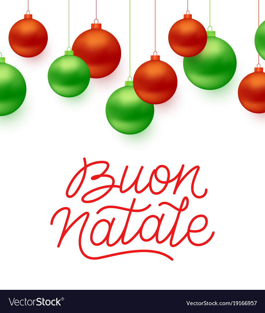 Italian christmas clipart jpg transparent Buon natale italian merry christmas typography jpg transparent