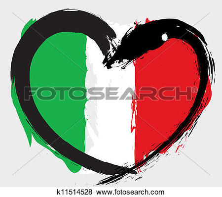 Italian clip art pictures svg library download Clip Art of Italian flag. k8044056 - Search Clipart, Illustration ... svg library download
