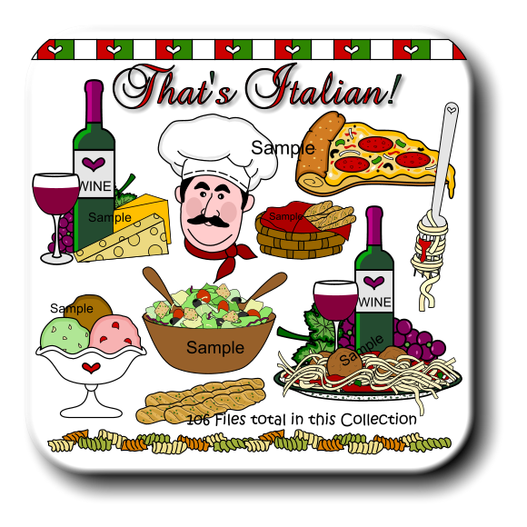 Italian food clipart free clipart free library 28+ Italian Food Clipart | ClipartLook clipart free library