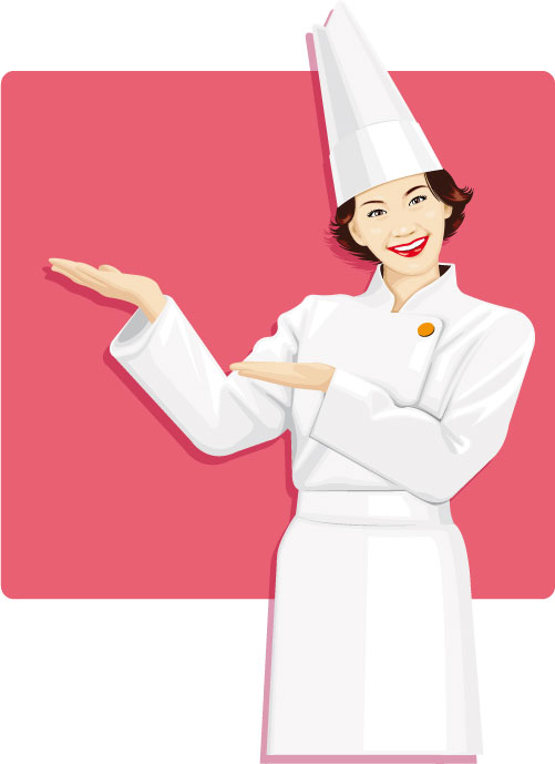 Italian men and women cooking clipart black and white download Free Female Cooking Cliparts, Download Free Clip Art, Free Clip Art ... black and white download