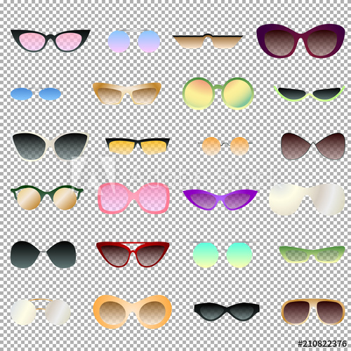 Items opaque clipart banner transparent stock Transparent and opaque eyewear set for clipart, various sunglasses ... banner transparent stock