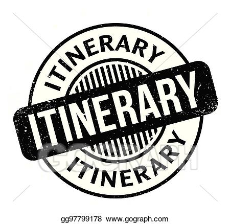 Itenerary clipart vector transparent Vector Art - Itinerary rubber stamp. Clipart Drawing gg97799178 ... vector transparent
