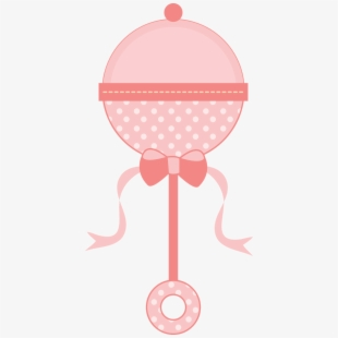 Its a girl baby shower clipart transparent clip library Baby Girl Rattle Clipart - Baby Shower Toys Png , Transparent ... clip library