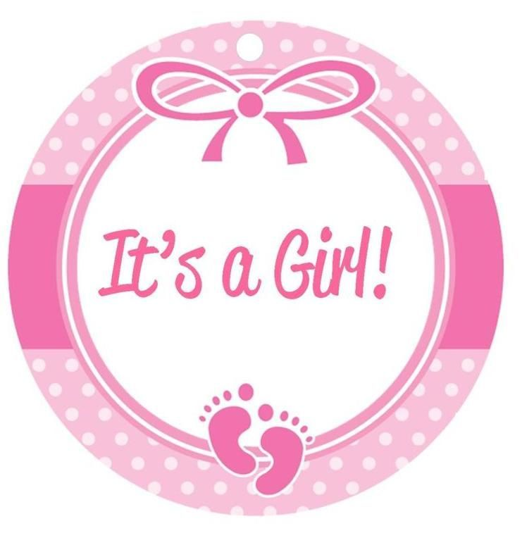 It-s a girl pictures clipart vector library library Baby shower its a girl clipart » Clipart Portal vector library library
