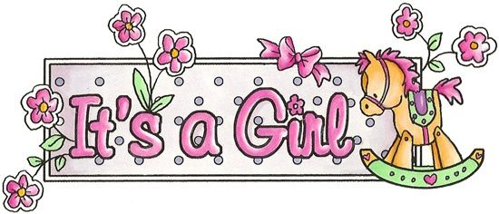 It-s a girl pictures clipart graphic royalty free library Spring/Summer 2012 It\'s A Girl Banner - BBY894 | clipart 2 ... graphic royalty free library