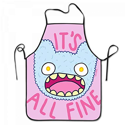 Its going to be fine clipart clip art transparent stock Amazon.com: Home Use Bib Apron It\'s All Fine Bib Aprons ... clip art transparent stock